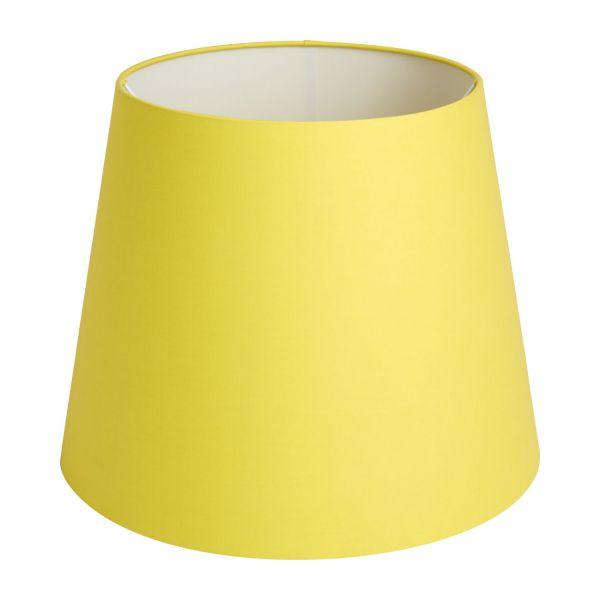 Abat jour jaune
