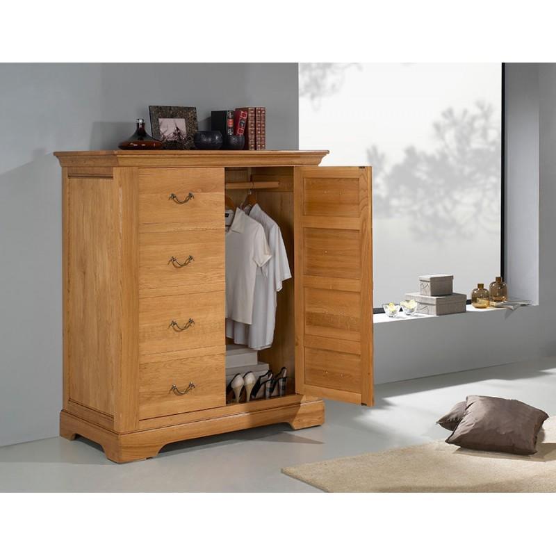 armoire penderie basse. Black Bedroom Furniture Sets. Home Design Ideas