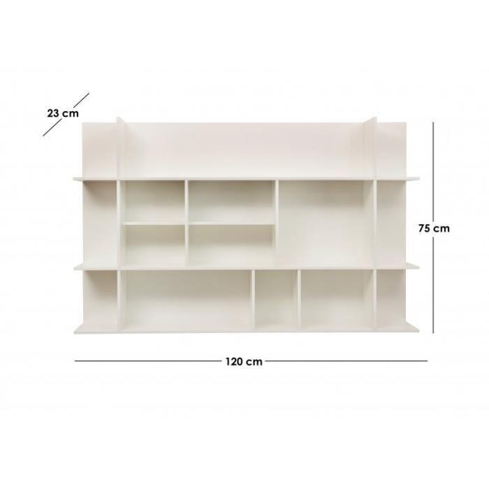 Bibliothèque horizontale