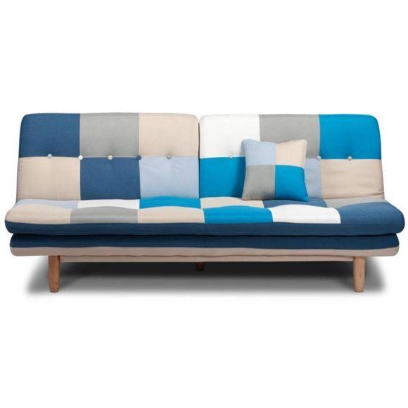 Canapé coloré