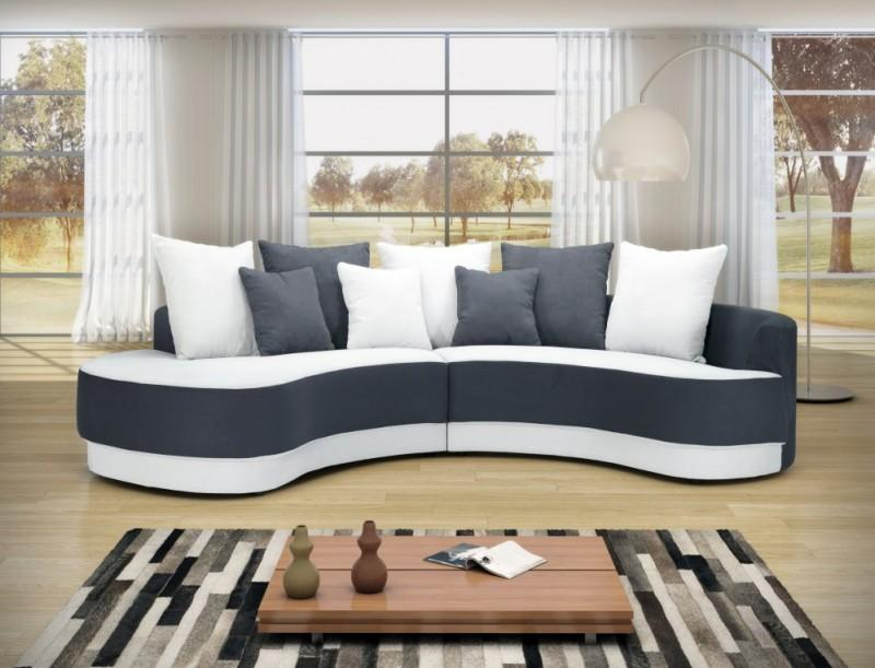 Canapé haricot