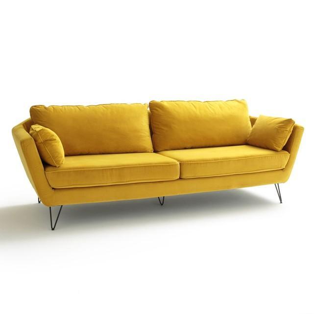 Canapé jaune