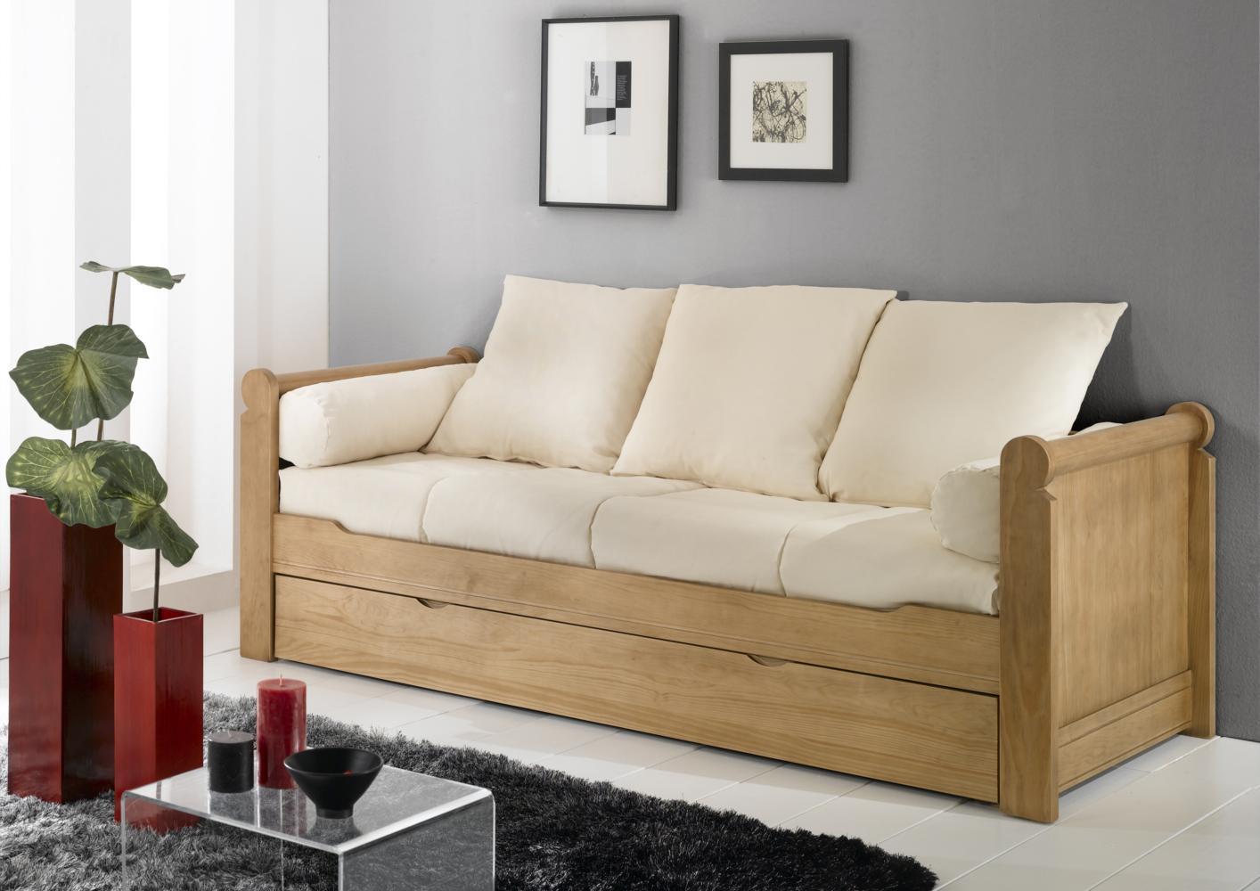 Canapé lit gigogne