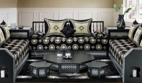 canap marocain. Black Bedroom Furniture Sets. Home Design Ideas