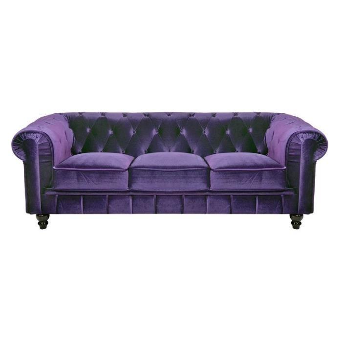 Canapé violet