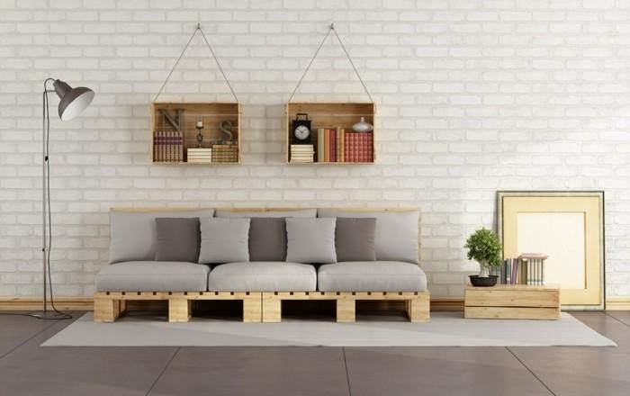 Canape en palette