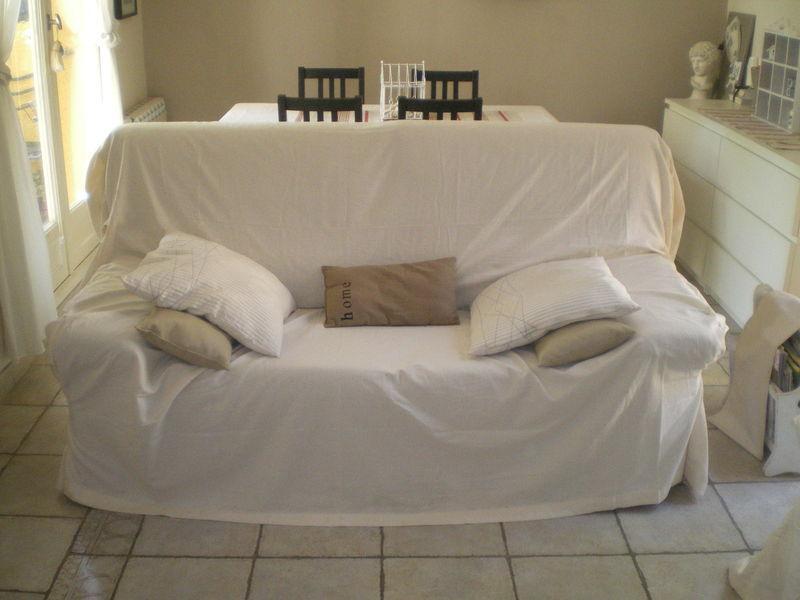 Comment faire une housse de canapé