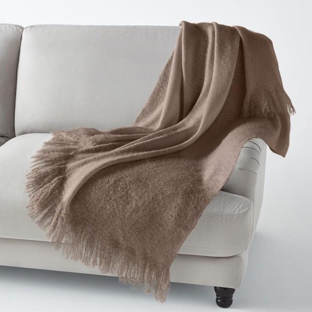 couverture mohair la redoute. Black Bedroom Furniture Sets. Home Design Ideas