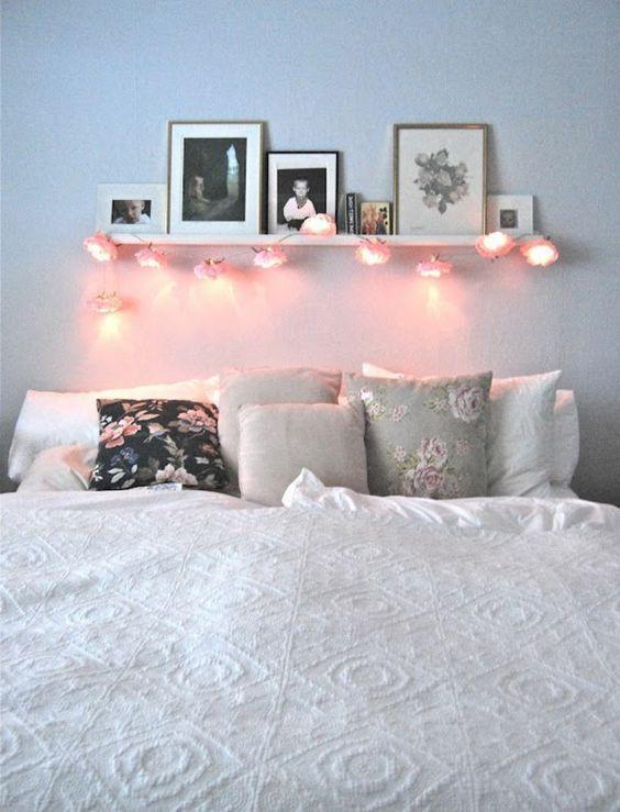 Etagere au dessus lit