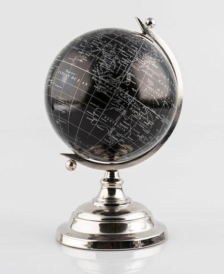 Globe terrestre déco