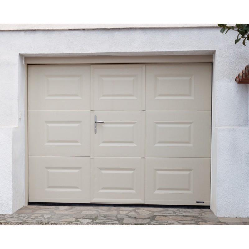 Gypass porte de garage avec portillon prix