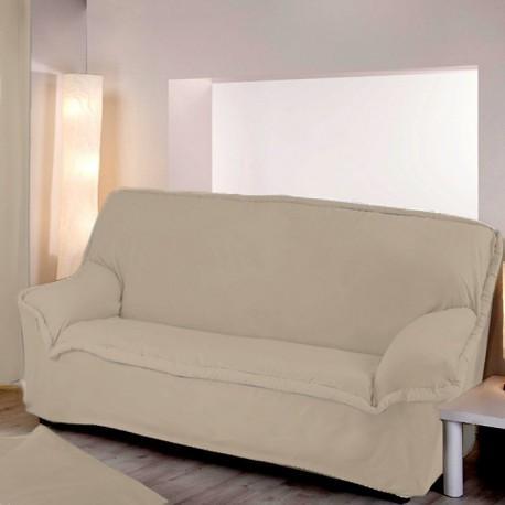Housse canapé lin