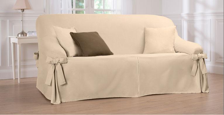 Housse de canapé blancheporte
