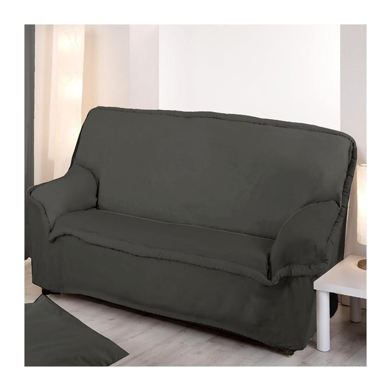 Housse de canapé pas cher gris