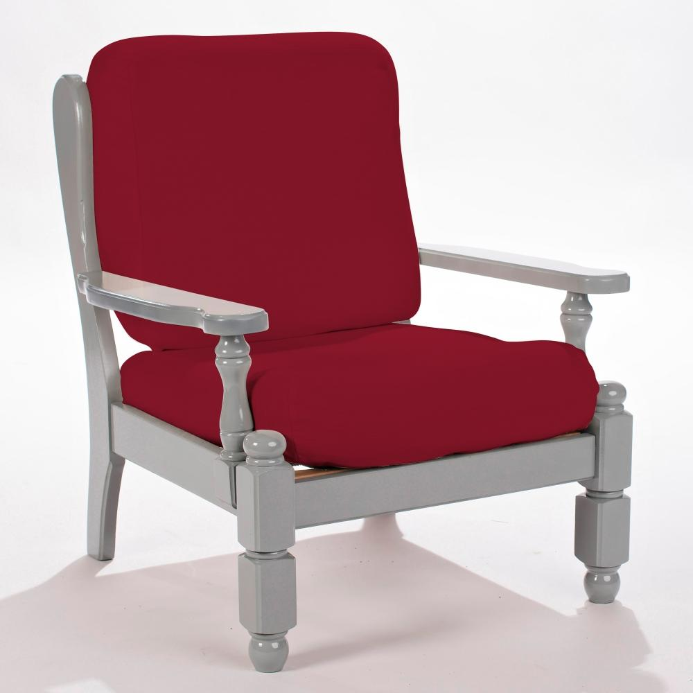 Housse de fauteuil rustique