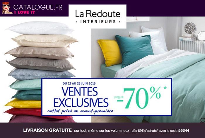 Promo La Redoute Linge De Maison.La Redoute Linge De Lit Soldes