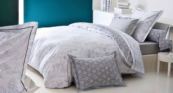 linge de lit soldes. Black Bedroom Furniture Sets. Home Design Ideas
