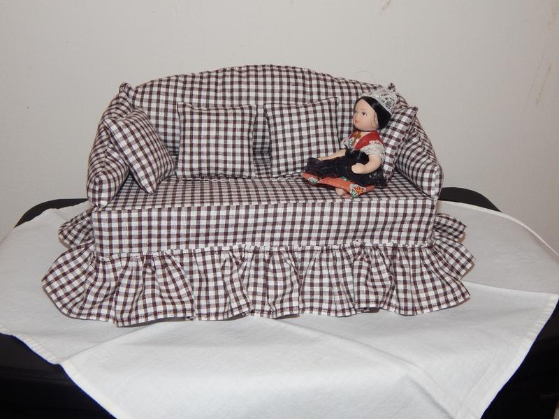 Patron canape pour boite a mouchoir