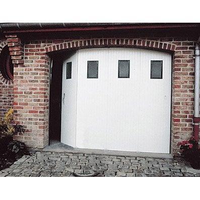 Porte de garage leroy merlin coulissante