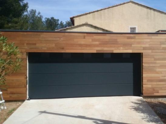 Porte de garage sectionnelle 4m