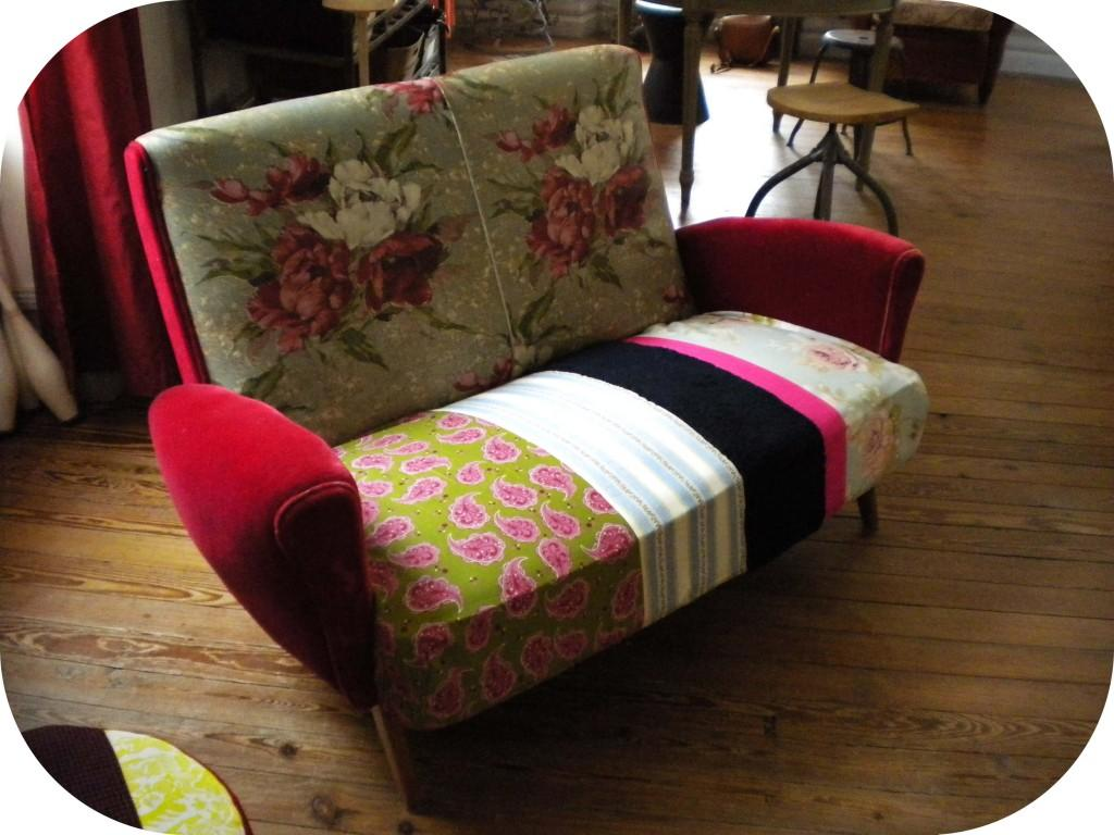 Refaire un canapé en tissu