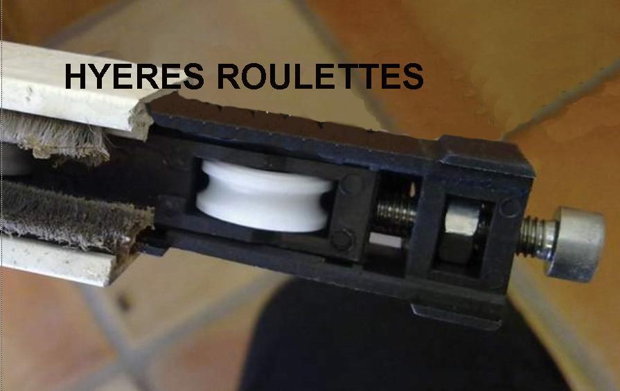 Roulette Baie Vitrée Coulissante