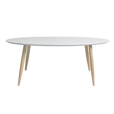 Table basse ovale but
