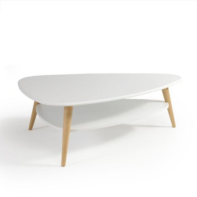 Table basse vintage double plateau, jimi
