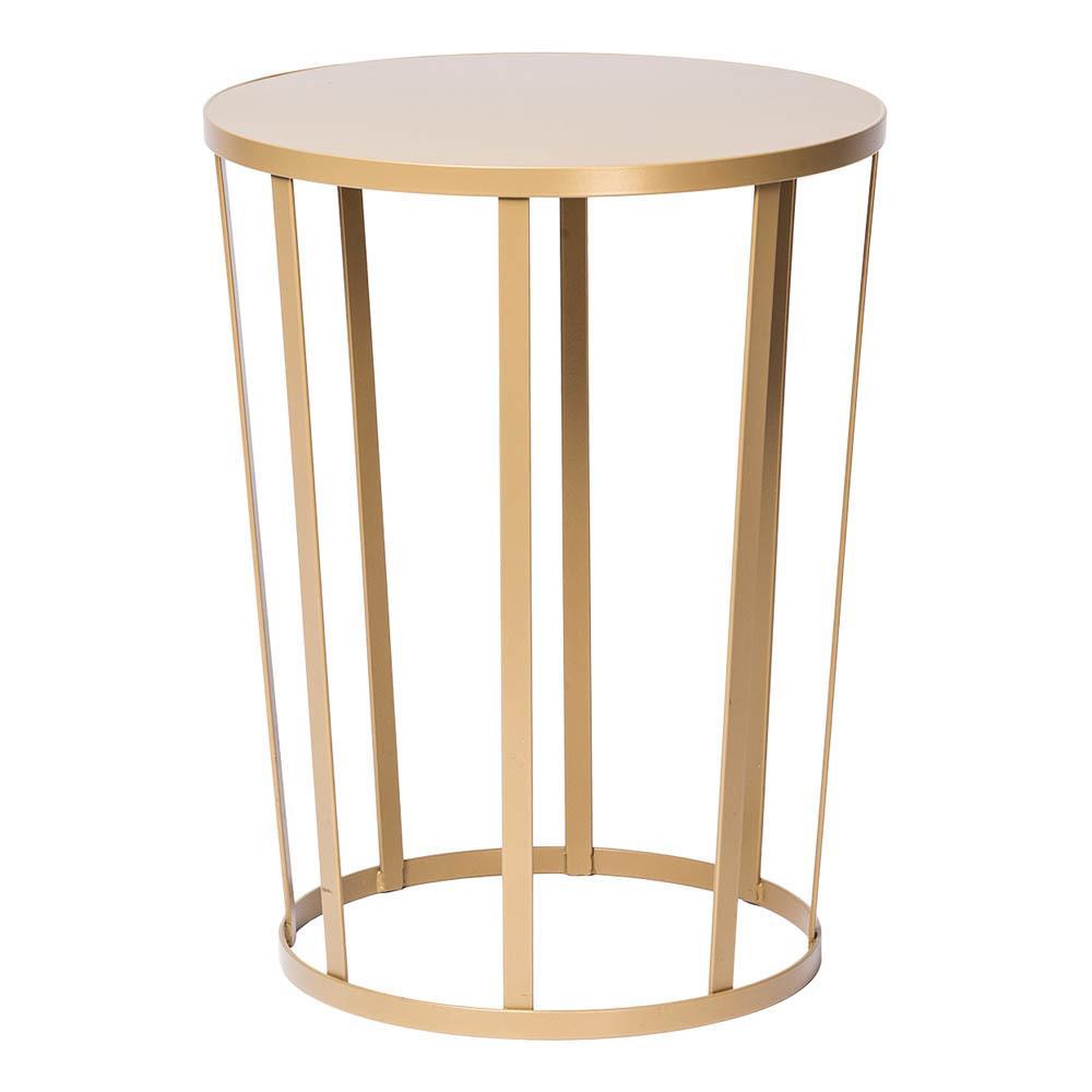 Table d appoint doré