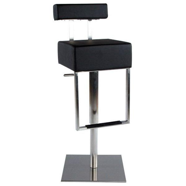 Tabouret de bar pied carré